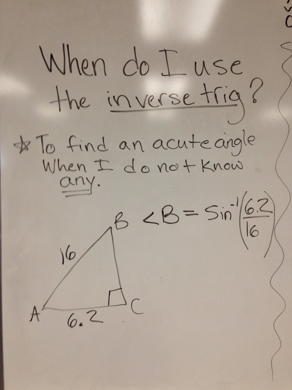 Chapter 9 TRIG! - Mrs. Beck's Site